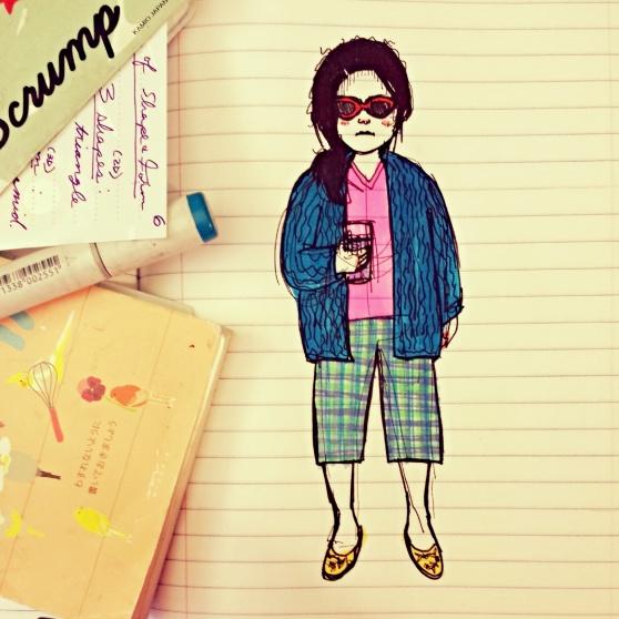 3 - journal doodle 2014